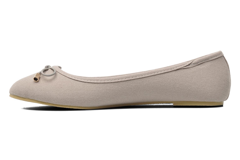 Ballerinas I Love Shoes Thavolant grau ansicht von vorne