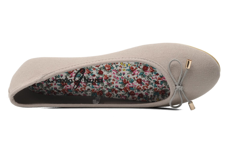 Ballerinas I Love Shoes Thavolant grau ansicht von links