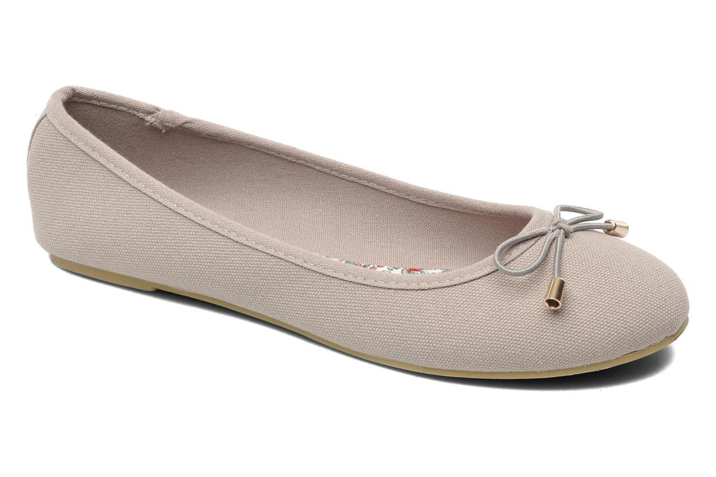 Ballerines I Love Shoes Thavolant Gris vue détail/paire