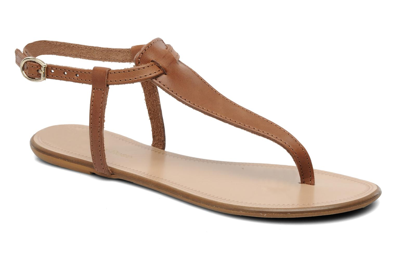 Sandalen Georgia Rose Lufluo cuir braun detaillierte ansicht/modell