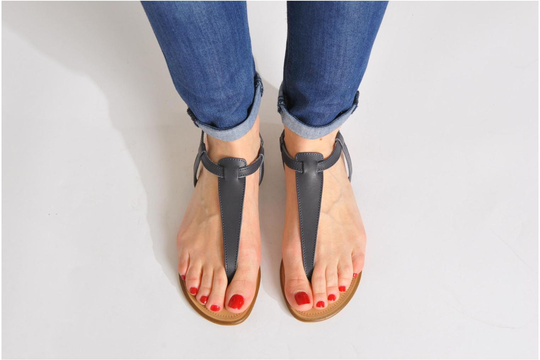 Sandalen Georgia Rose Lufluo cuir Blauw onder