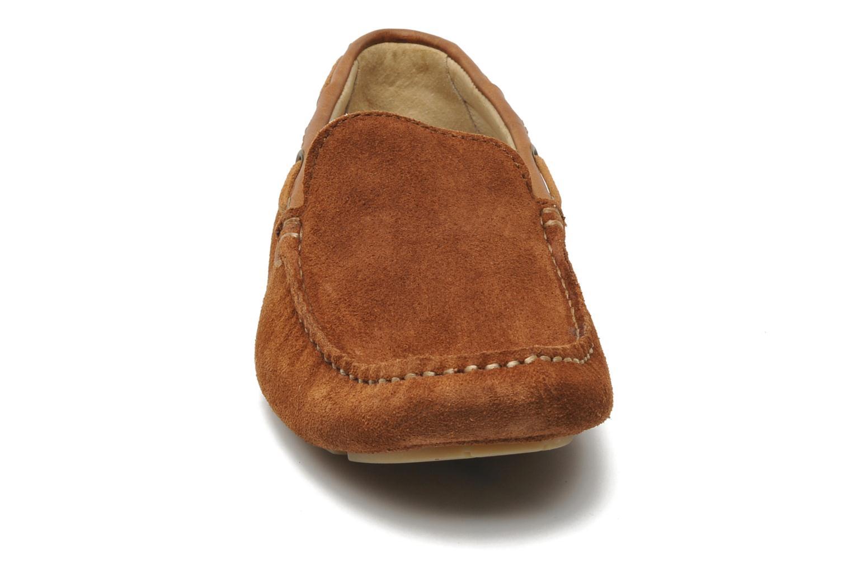 Mocassins Kost Kienol Marron vue portées chaussures