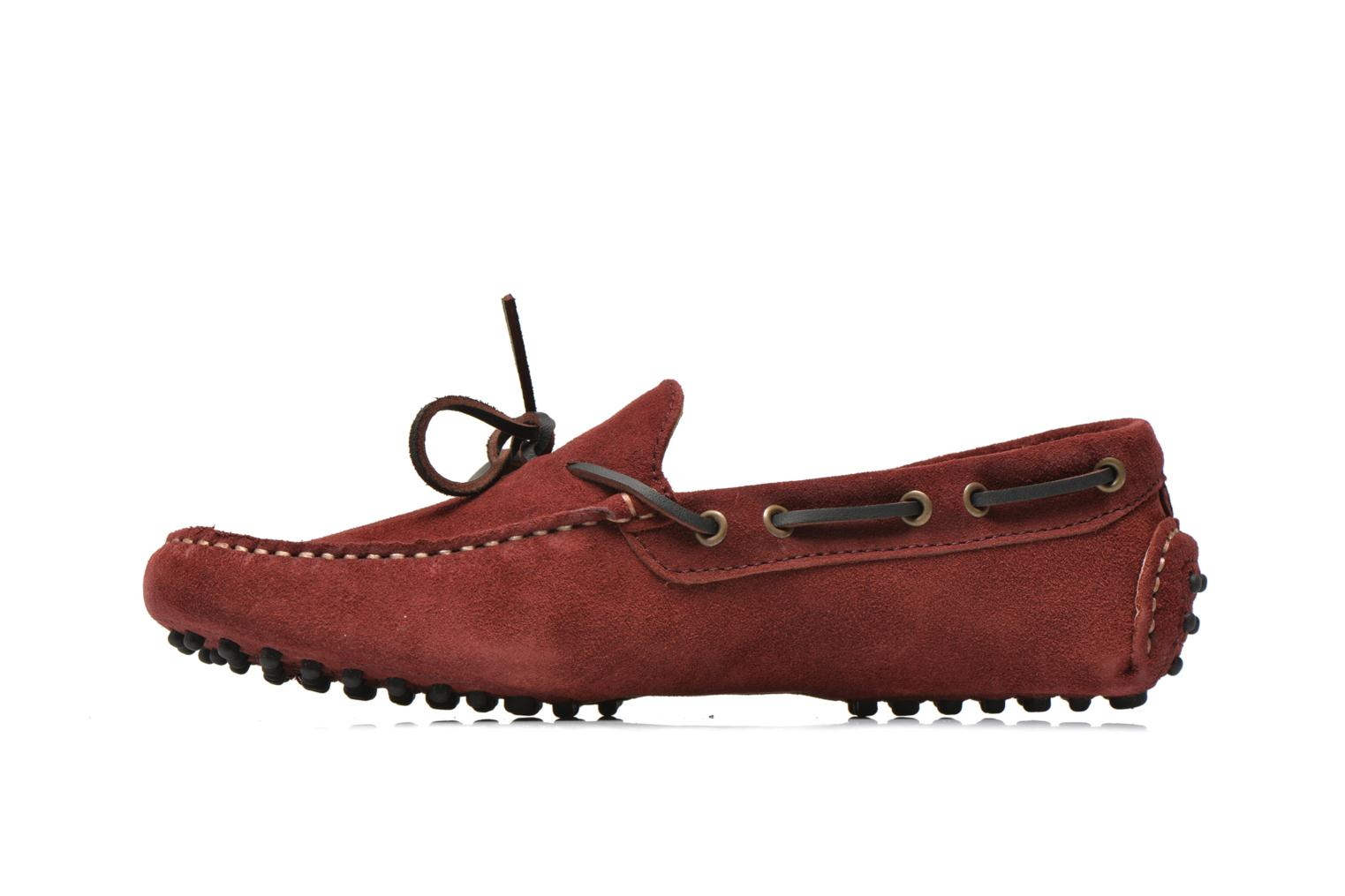 Mocassins Kost Tapal Bordeaux vue face