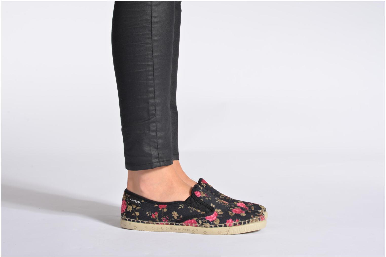 Sneaker P-L-D-M By Palladium Bora Print mehrfarbig ansicht von unten / tasche getragen