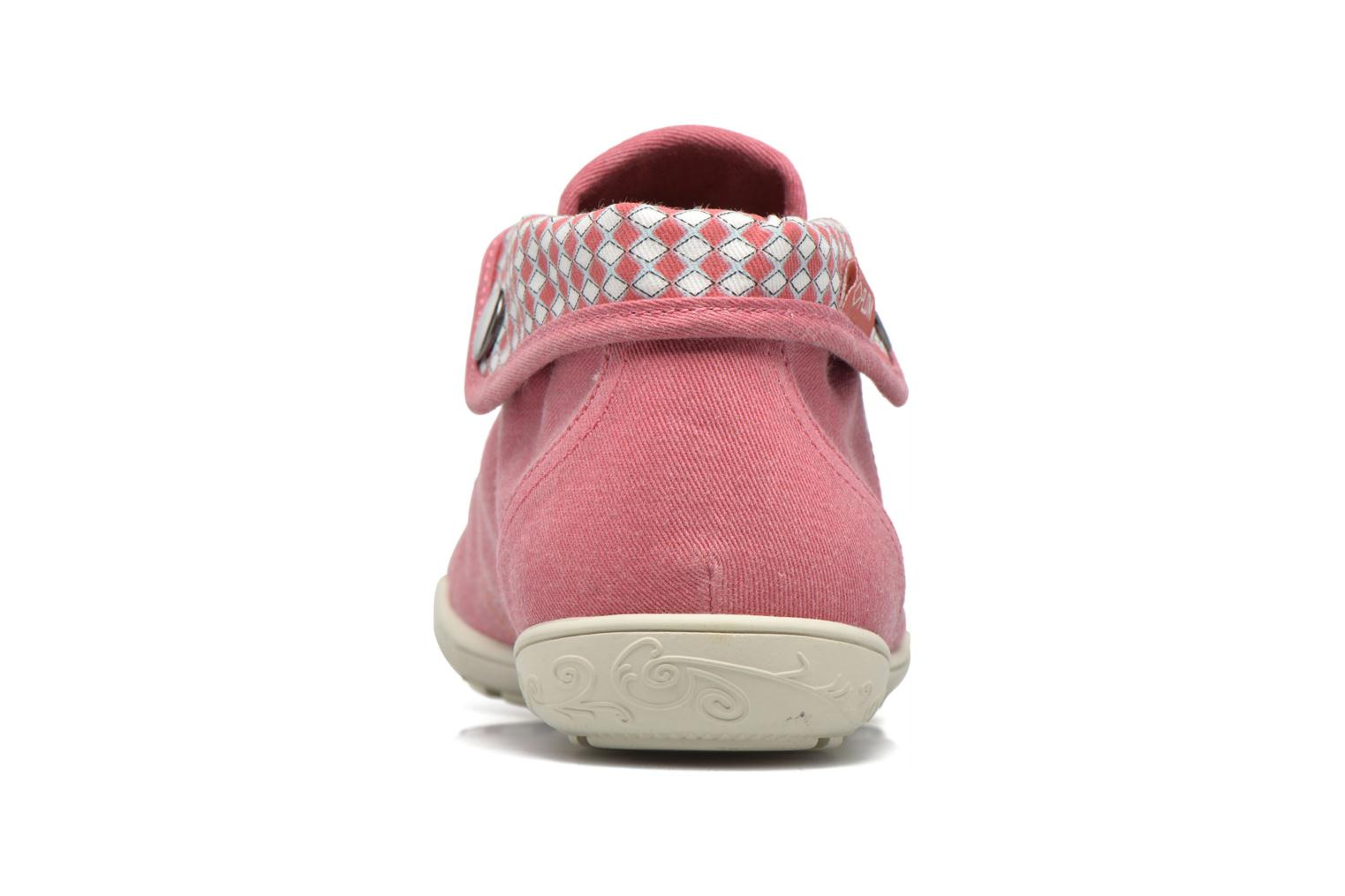 Trainers P-L-D-M By Palladium Gaetane Twl Pink view from the right