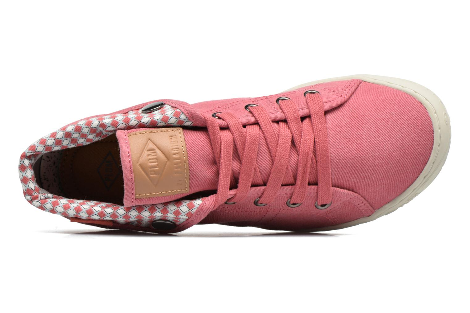 Trainers P-L-D-M By Palladium Gaetane Twl Pink view from the left