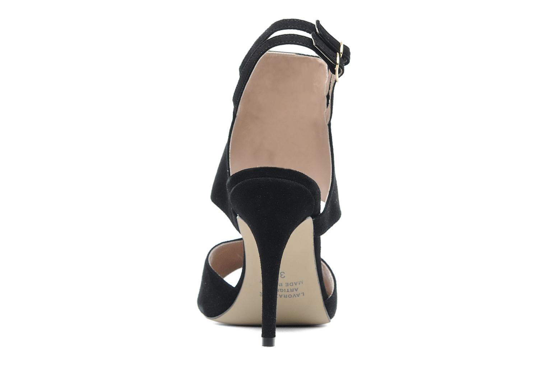 Sandalen Georgia Rose Baccolo Zwart rechts