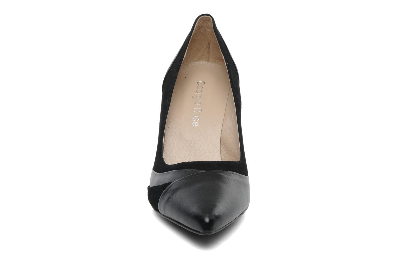 Escarpins Georgia Rose Babah Noir vue portées chaussures