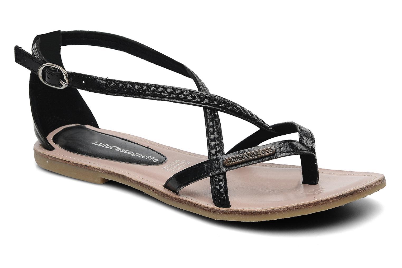 Sandalen Lulu Castagnette LC Grimaldi schwarz detaillierte ansicht/modell