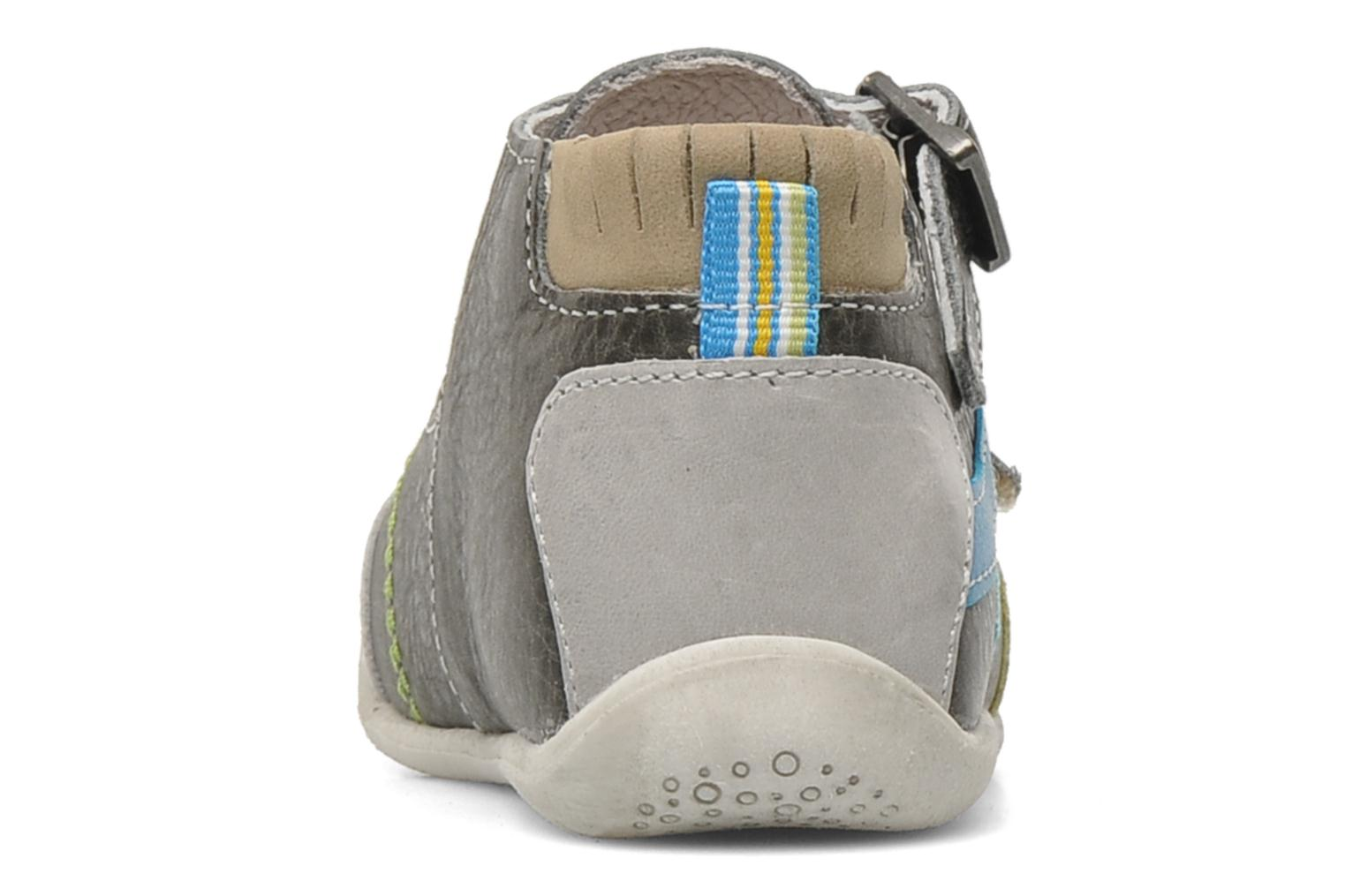 Ankle boots Babybotte PAVEL Grey view from the right