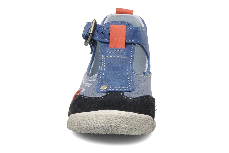 Bottines et boots Babybotte PEPITO Bleu vue portées chaussures