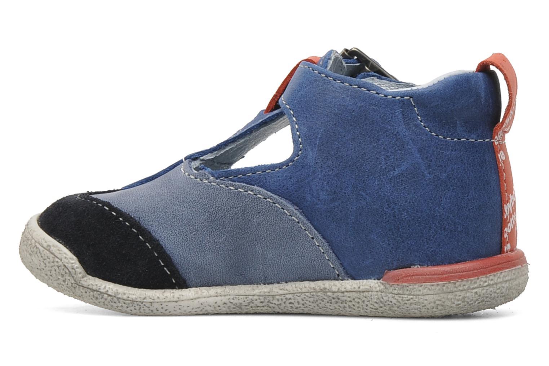 Bottines et boots Babybotte PEPITO Bleu vue face