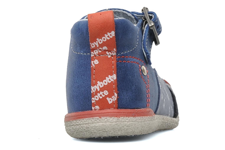 Bottines et boots Babybotte PEPITO Bleu vue droite