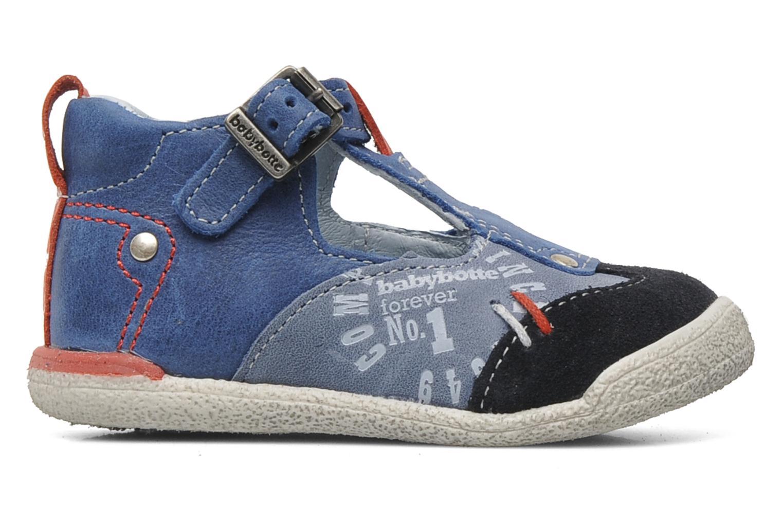 Stiefeletten & Boots Babybotte PEPITO blau ansicht von hinten