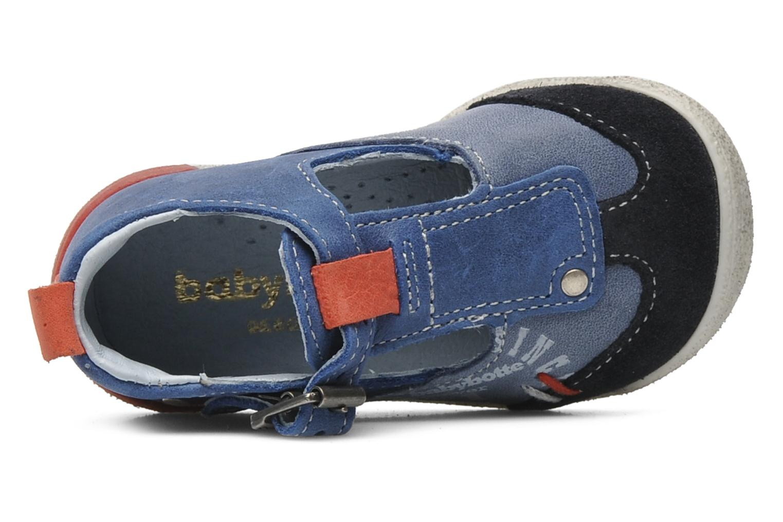 Bottines et boots Babybotte PEPITO Bleu vue gauche