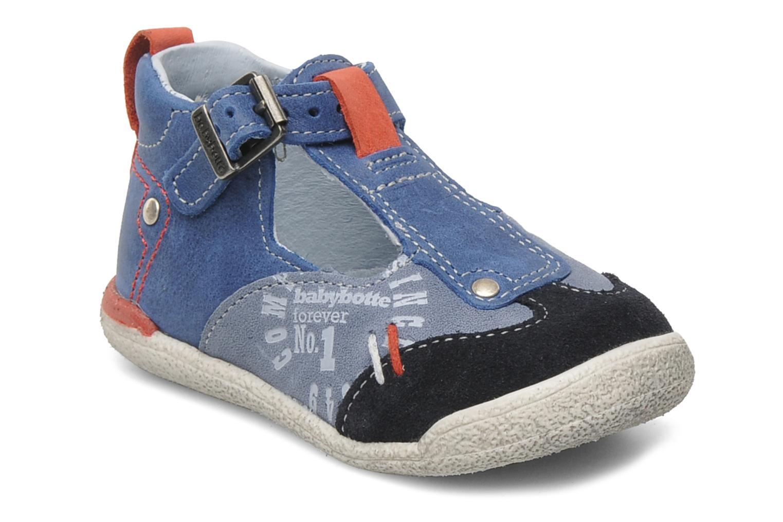 Bottines et boots Babybotte PEPITO Bleu vue détail/paire