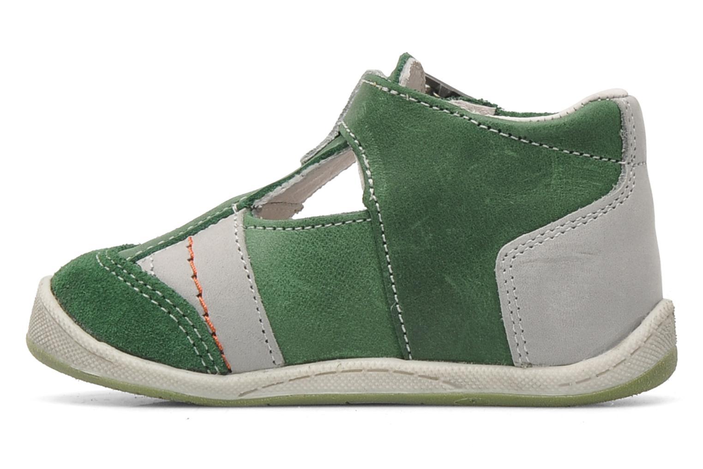 Sandaler Babybotte PANPI Grøn se forfra