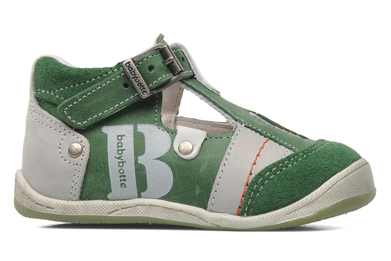 Sandaler Babybotte PANPI Grøn se bagfra
