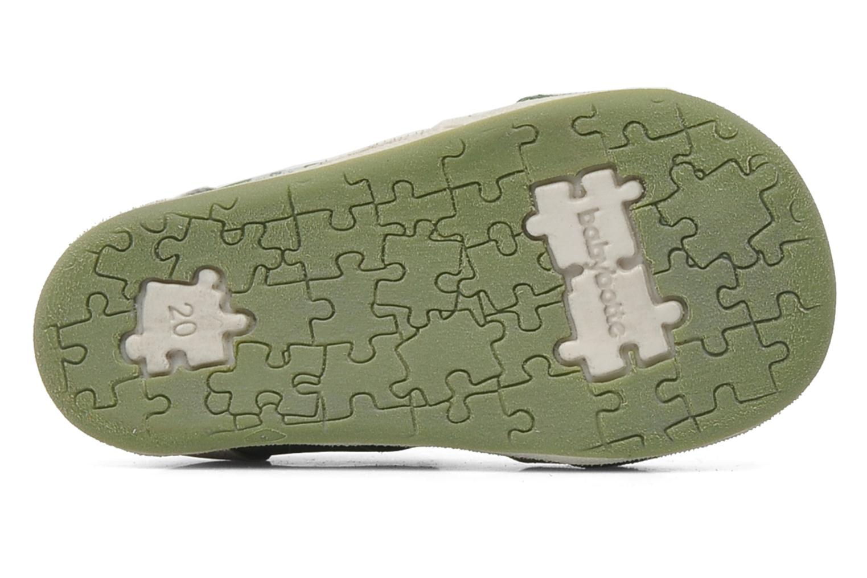Sandaler Babybotte PANPI Grøn se foroven