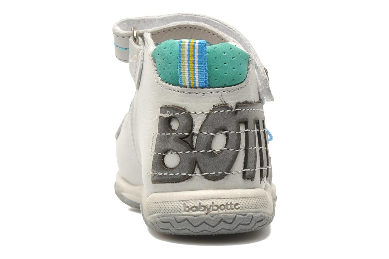 Sandalen Babybotte TITOUAN grau ansicht von rechts