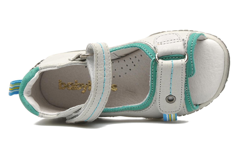 Sandalen Babybotte TITOUAN grau ansicht von links