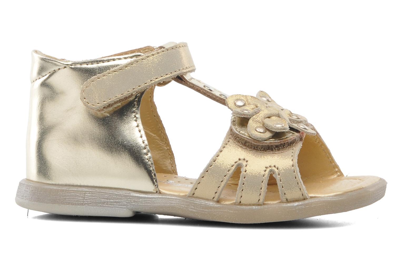 Sandales et nu-pieds Babybotte TAHIS Or et bronze vue derrière