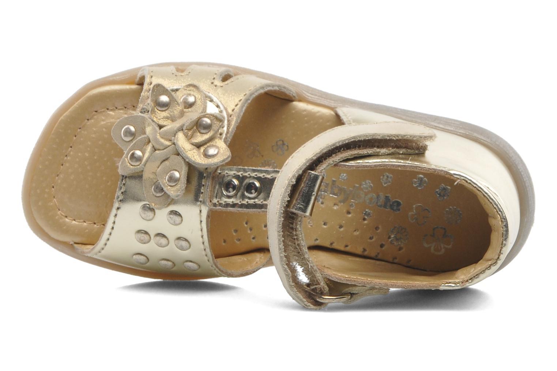 Sandales et nu-pieds Babybotte TAHIS Or et bronze vue gauche