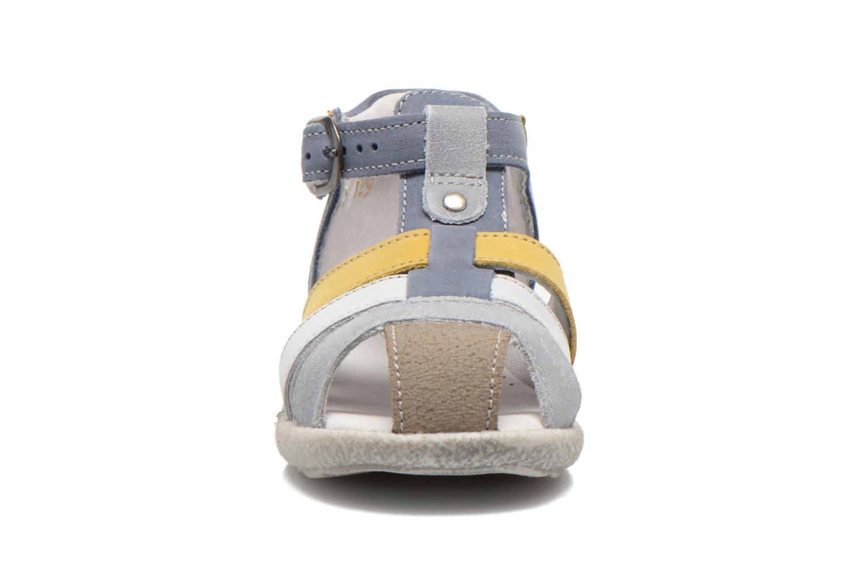 Sandalen Babybotte TANGO blau schuhe getragen
