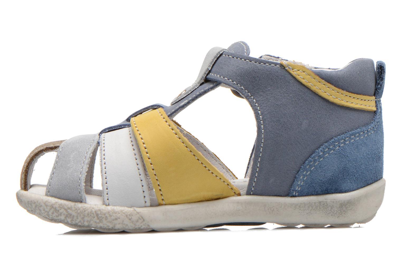 Sandalen Babybotte TANGO blau ansicht von vorne