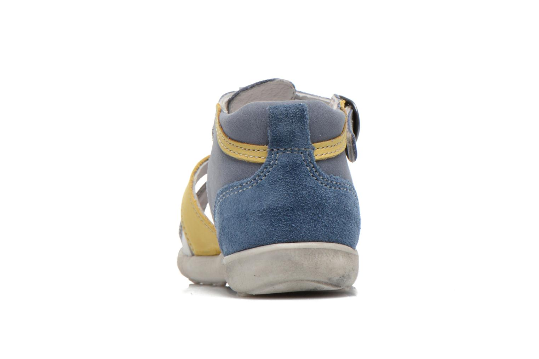 Sandalen Babybotte TANGO blau ansicht von rechts