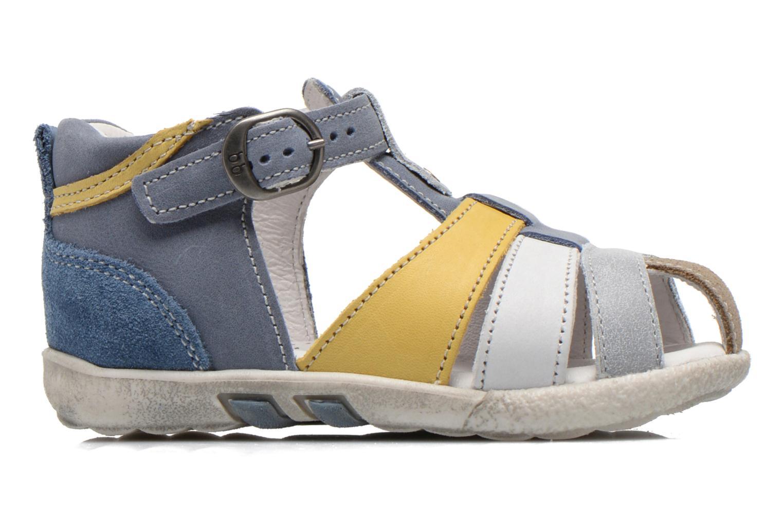 Sandalen Babybotte TANGO blau ansicht von hinten