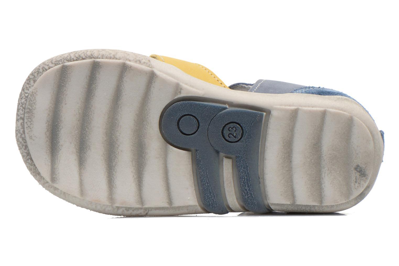 Sandalen Babybotte TANGO blau ansicht von oben