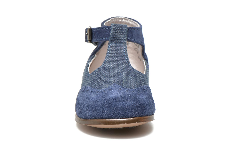 Sommarskor Little Mary François Blå bild av skorna på