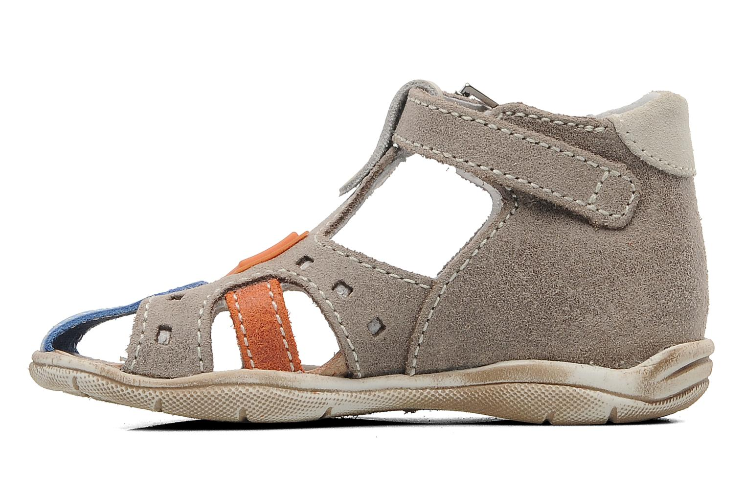Sandals Little Mary PANAMA Grey front view