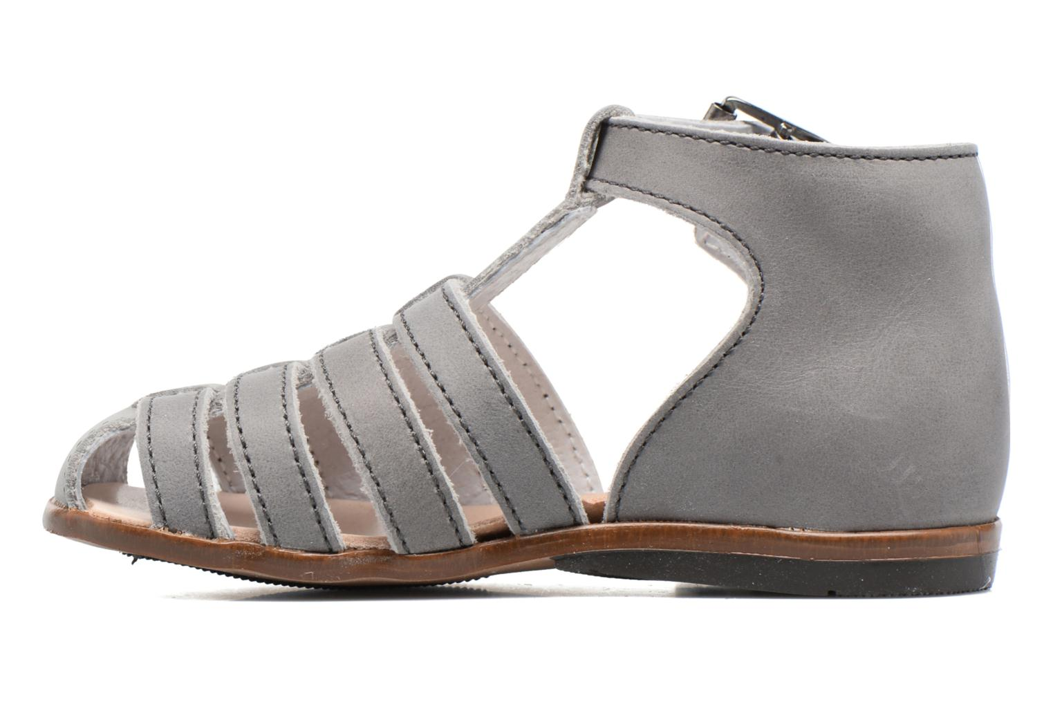 Sandals Little Mary Jules Grey front view
