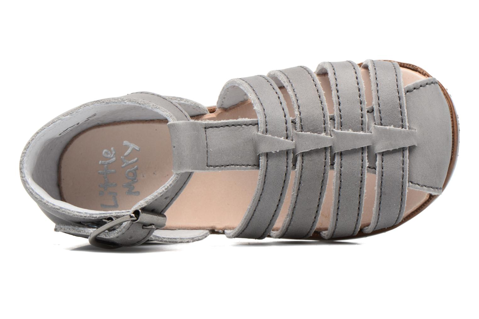 Sandals Little Mary Jules Grey view from the left