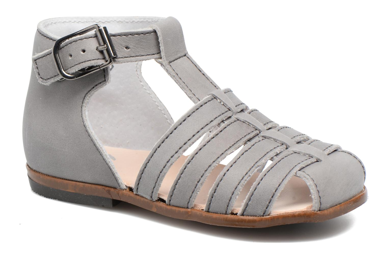 Sandals Little Mary Jules Grey detailed view/ Pair view