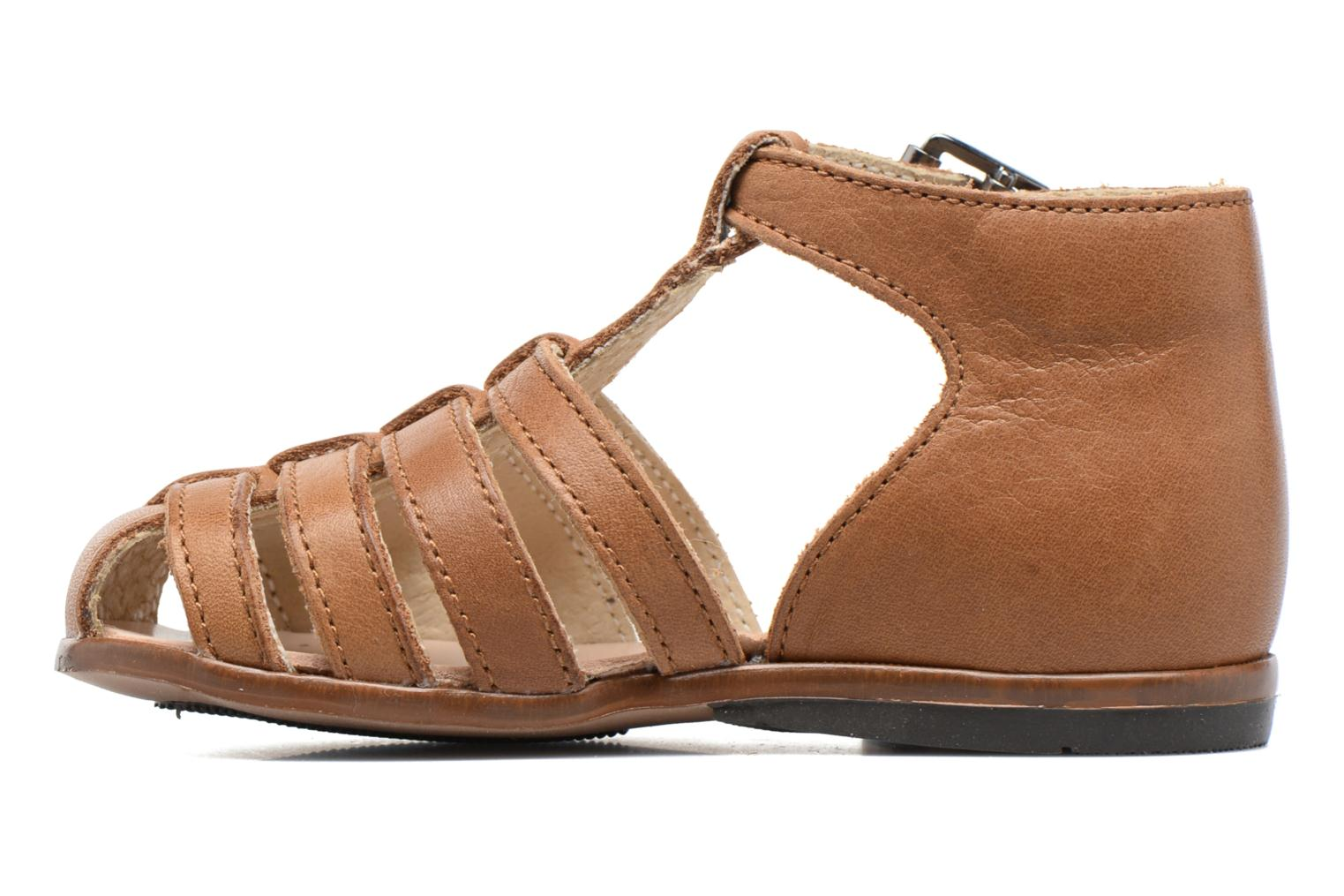 Sandals Little Mary Jules Brown front view