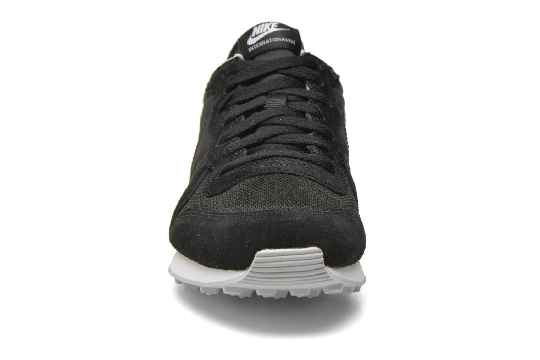 Sneaker Nike Nike Internationalist schwarz schuhe getragen