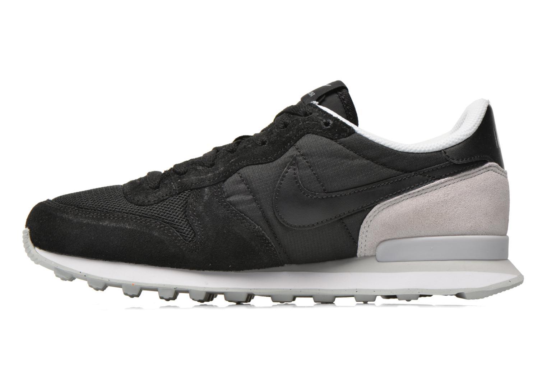 Sneaker Nike Nike Internationalist schwarz ansicht von vorne