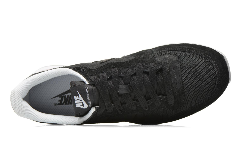 Sneaker Nike Nike Internationalist schwarz ansicht von links