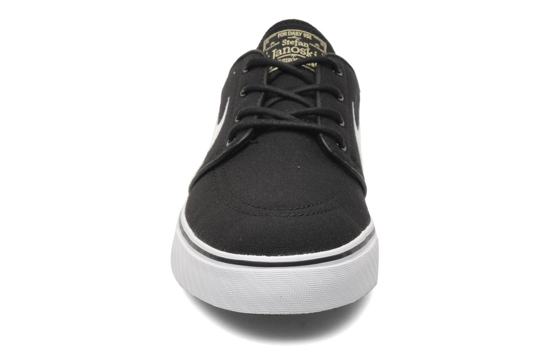 Sneaker Nike Nike SB Zoom Stefan Janoski Cnvs schwarz schuhe getragen