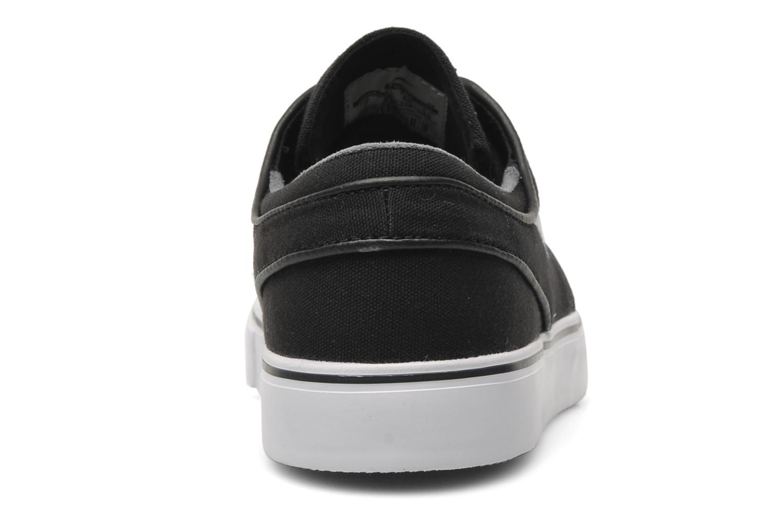 Sneaker Nike Nike SB Zoom Stefan Janoski Cnvs schwarz ansicht von rechts
