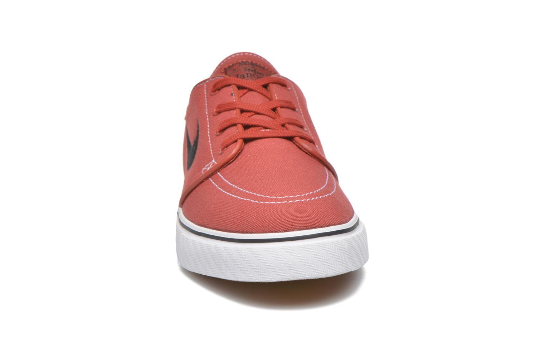 Sneaker Nike Nike SB Zoom Stefan Janoski Cnvs rot schuhe getragen
