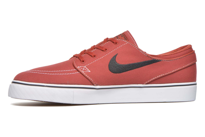 Sneaker Nike Nike SB Zoom Stefan Janoski Cnvs rot ansicht von vorne