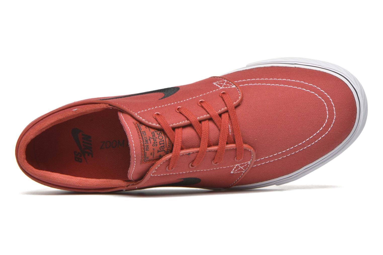 Sneaker Nike Nike SB Zoom Stefan Janoski Cnvs rot ansicht von links