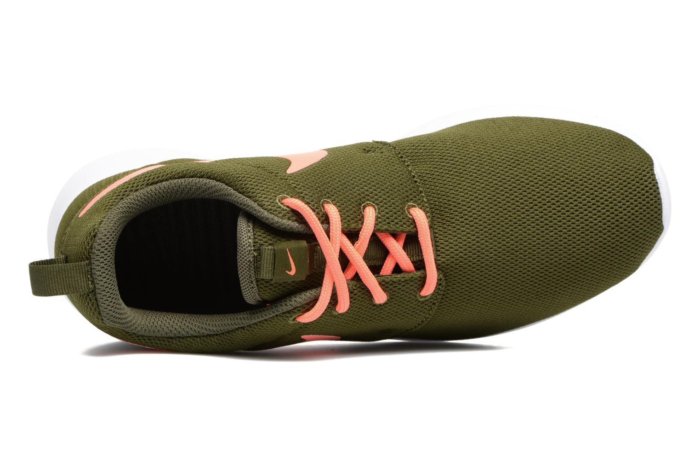 Baskets Nike Wmns Nike Roshe One Vert vue gauche