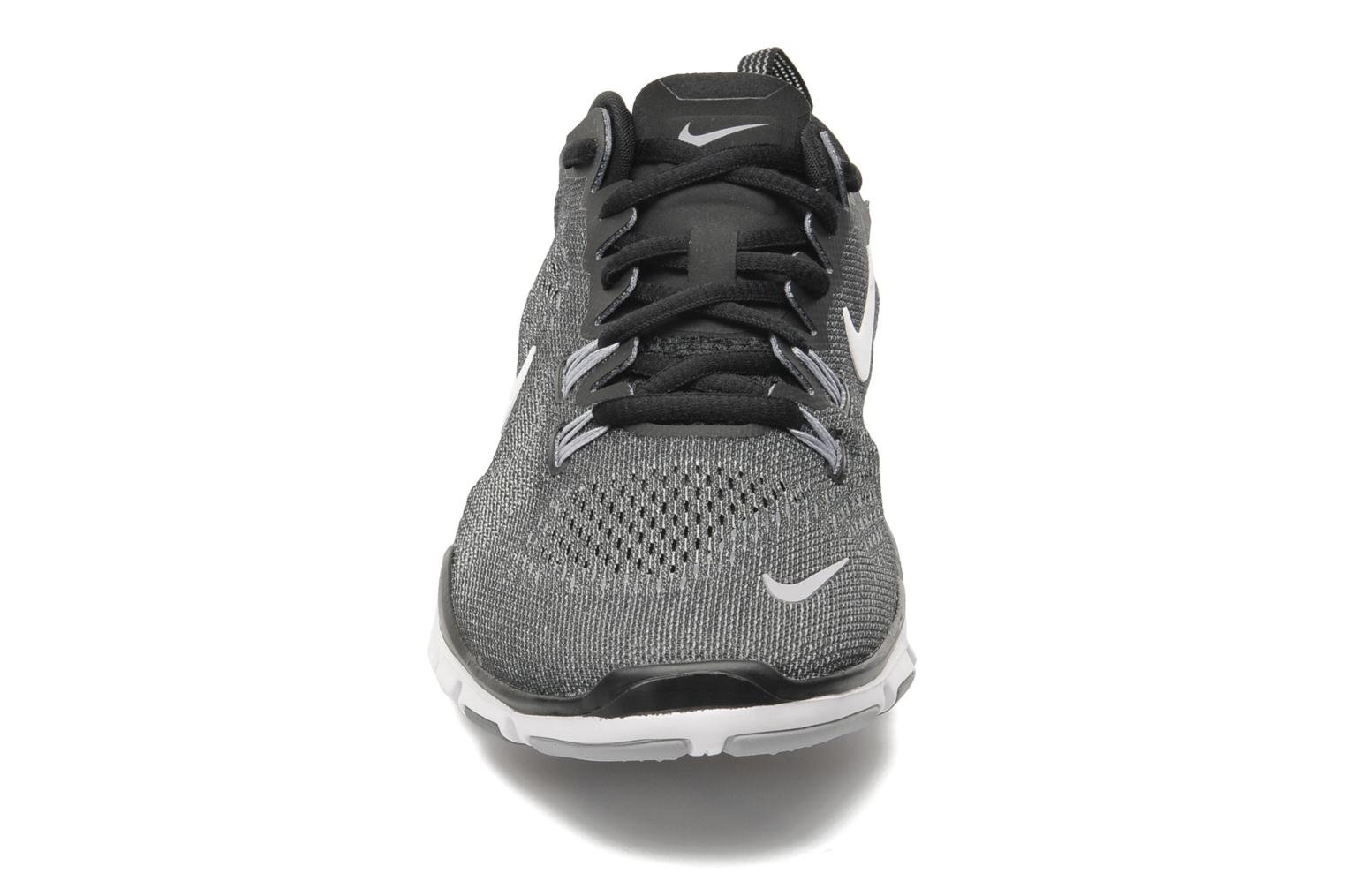 Wmns Nike Free 5.0 Tr Fit 4 Black/White-Cool Grey-Wlf Grey