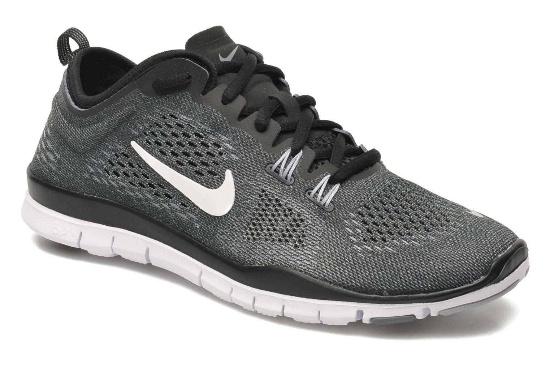 Wmns Nike Free 5.0 Tr Fit 4 Black/White-Cool Grey-Wlf Grey