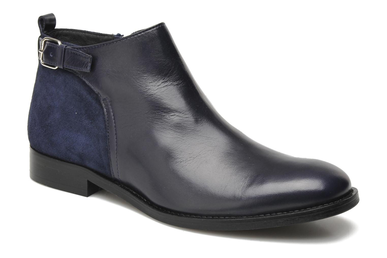 Ankelstøvler Georgia Rose Tatouille Blå detaljeret billede af skoene